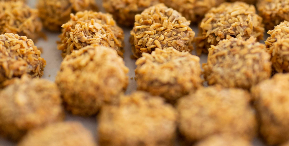 Coconut Caramel Crunchies