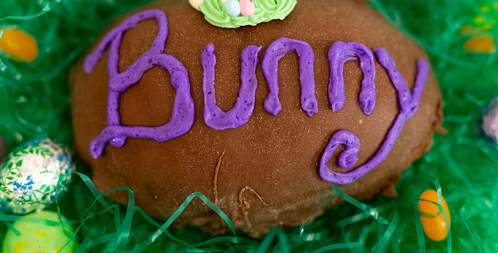 Large - Personalized Chocolate Easter Egg