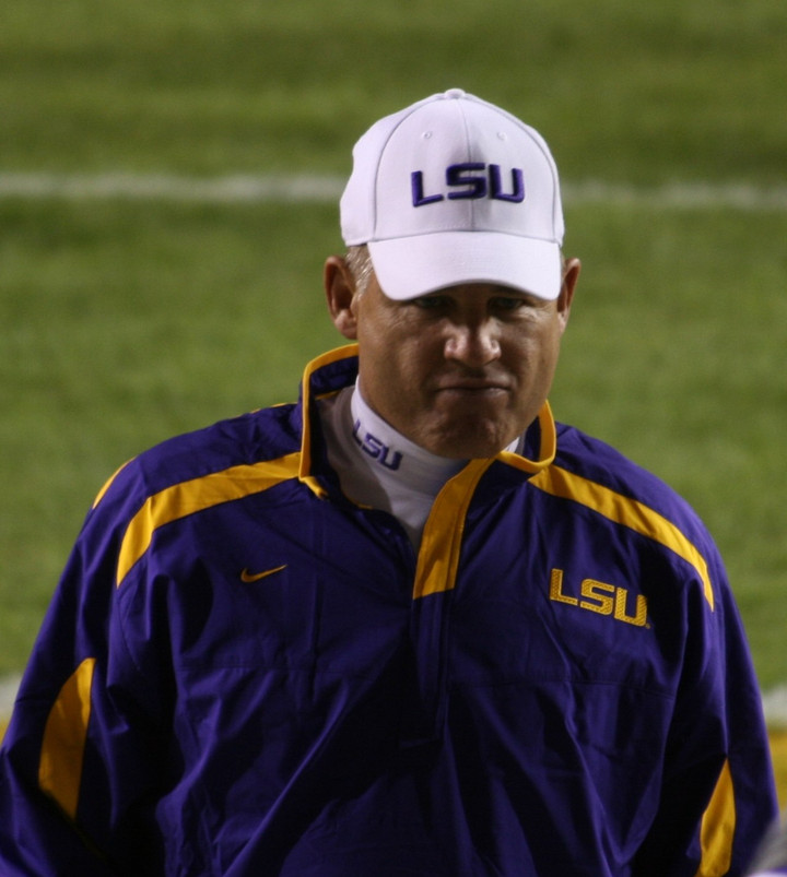 Les Miles is going to get fired at KU, KU better be careful how they phrase it