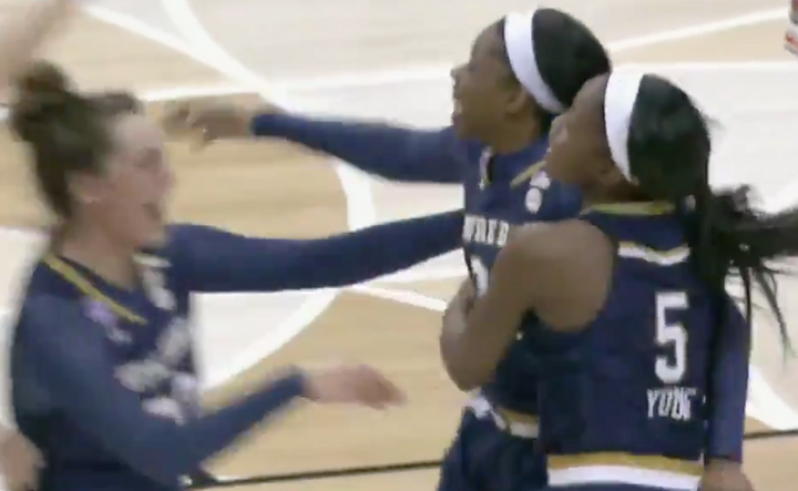 Notre Dame's Arike Ogunbowale Owned the Women's Final Four at the Buzzer