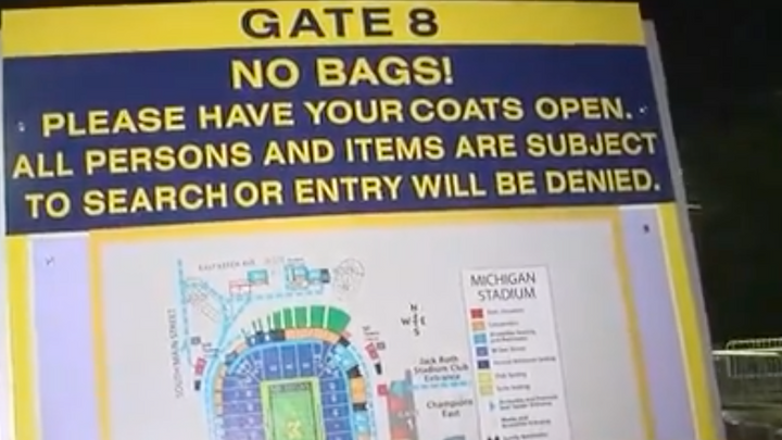 Security Threats Made Ahead of Michigan vs. Michigan State Game??