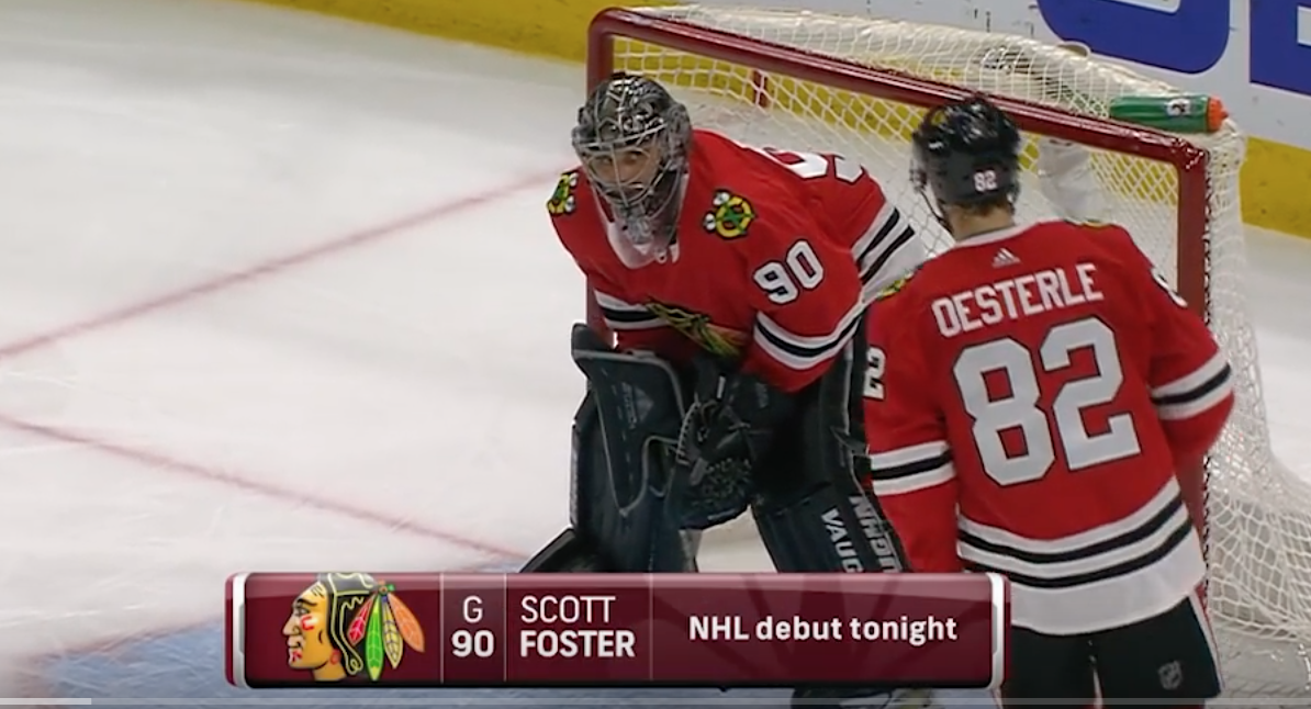 An Accountant Steals the Show as Blackhawks Emergency Goalie | Sports News  And Info | United States | OSG Sports