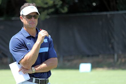 """UNC Football Coach Fedora tries to be """"Hip"""" in Recruiting Video"""