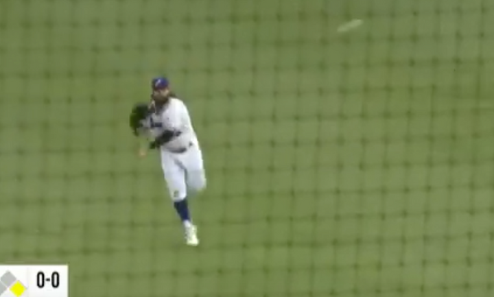 MILB Outfielder wins with Diving, Rolling, Dizzy Double Play