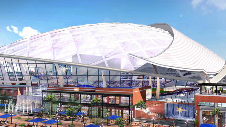Tampa Bay Rays Have Proposed a Stadium Without Saying Who Will Pay for It?
