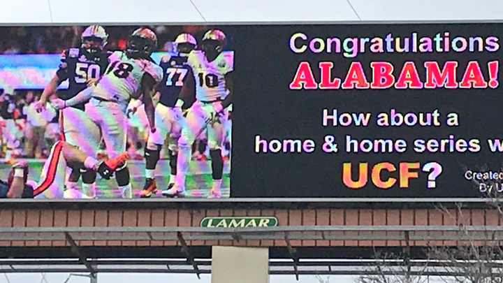 UCF's Attempts at Trolling Alabama are Alternately Great and Futile