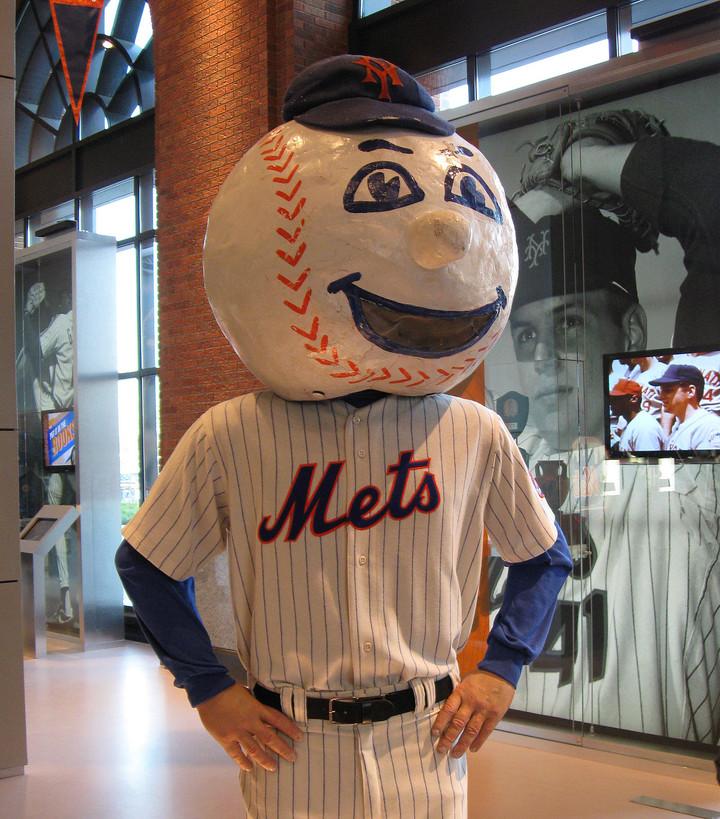 Mr. Met Flipping Fan the Bird is Summary of Mets Season So Far
