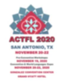 ACTFL 2020 Unofficial