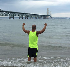 Mighty Mac swimmer challenges the Straits of Mackinac