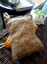 zero waste scratching sponge