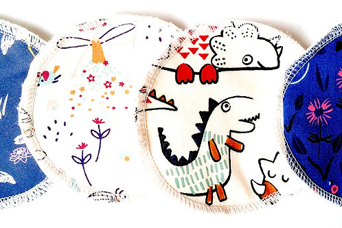 Coussinet d'allaitement petit dragon (x4)