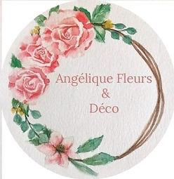 c'est le logo de notre entreprise angelique fleurs et déco caluire et cuire
