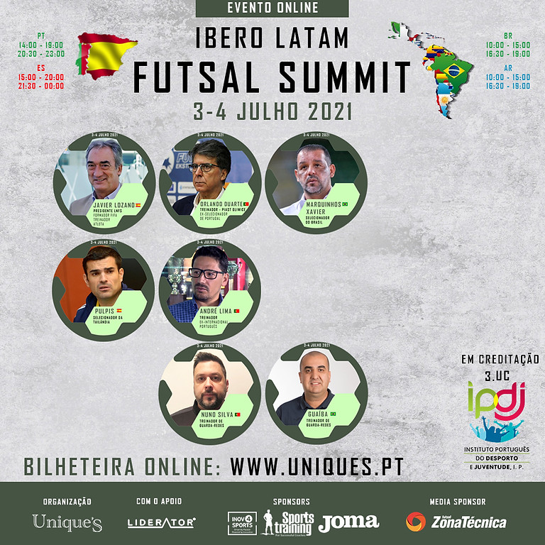 Ibero Latam Futsal Summit