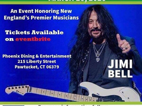 Jimi Bell (Inducted into the New England Hall Of Fame) March 29th, 2020!
