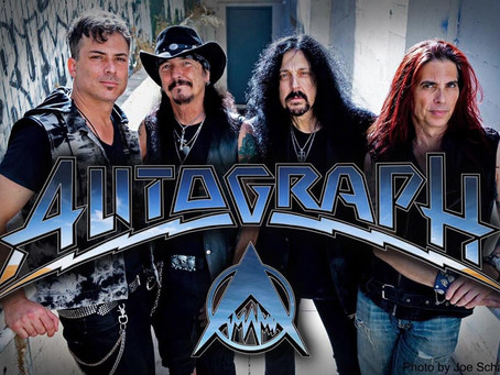 JIMI BELL is the new Guitarist for the band AUTOGRAH!