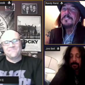 Jimi & Randy of Autograph interview with Ralph of the Rock Shop