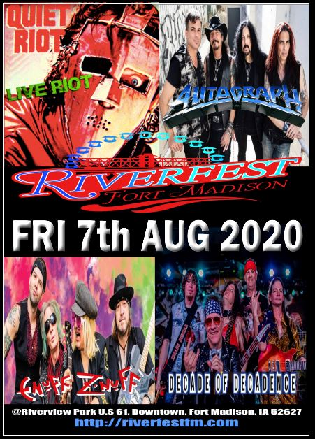 08 Fri07Aug2020 RIverfest IOWA
