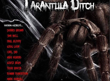 'Jimi's Shred House' on 'Tarantula Ditch' 2019 CD by Tracy G.