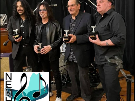 Induction to New England Musicians Hall Of Fame