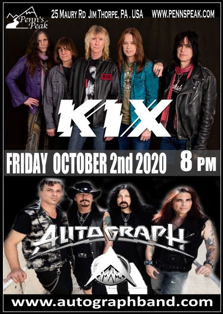 10 Fri02Oct2020 Autograph and KIX