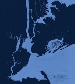 New York City Waterways map