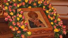 Престольный праздник в честь Святителя Спиридона Тримифунтского.