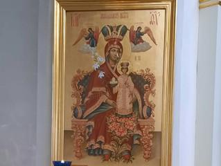 Праздник месночтимой иконы Божией Матери Неувядаемый Цвет