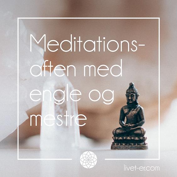 Meditation- og kanaliseringsaften i mestrenes energi