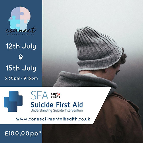 Suicide First Aid (Understanding Suicide Interventions)