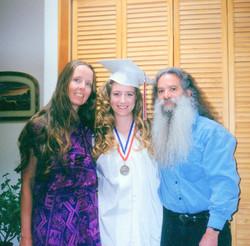 High school graduation '95