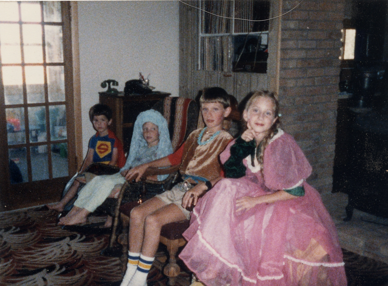 playing royal family circa 1985