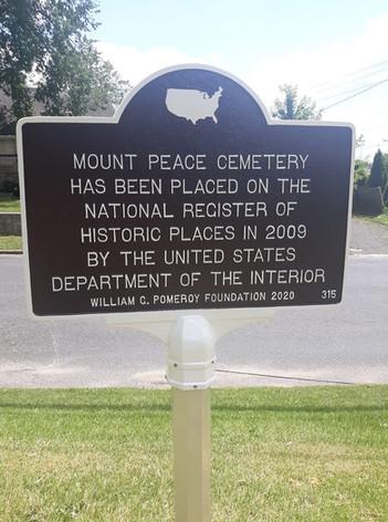 National Historic Register sign