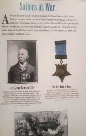 John H. Lawson exhibited at the African American Museum, Washington, DC