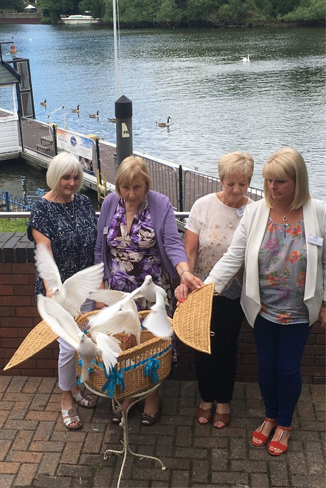 Action Mesothelioma Day 2016 Dove Release - Boyes Turner Solicitors