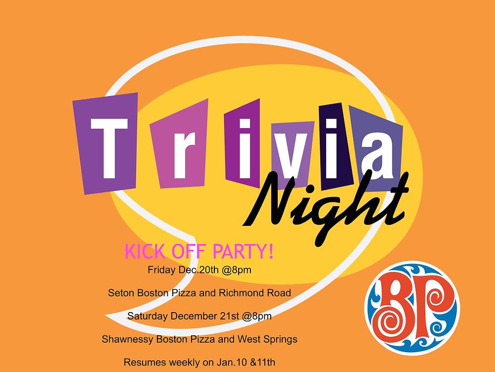 Trivia Night YYC