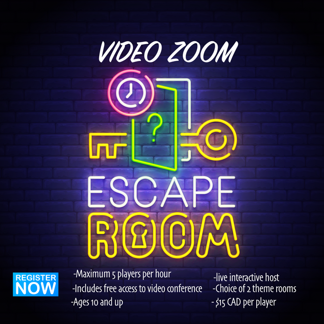 Are you looking for an online escape room?