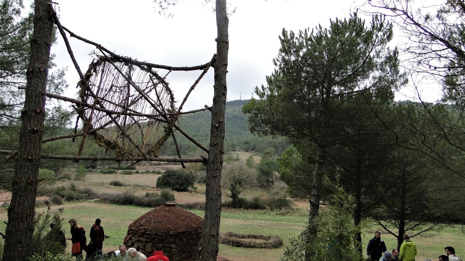 Espai artialitzat Pixafanals: Patiment, barraca del Pixafanals, Corral