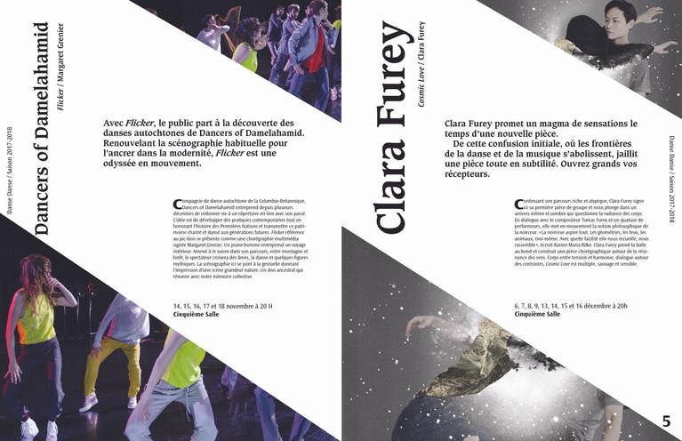 Brochure sur Danse Danse