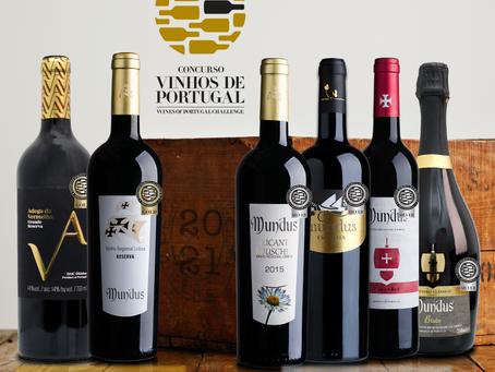 Vinhos Adega da Vermelha e Mundus galardoados pelo concurso de Vinhos de Portugal