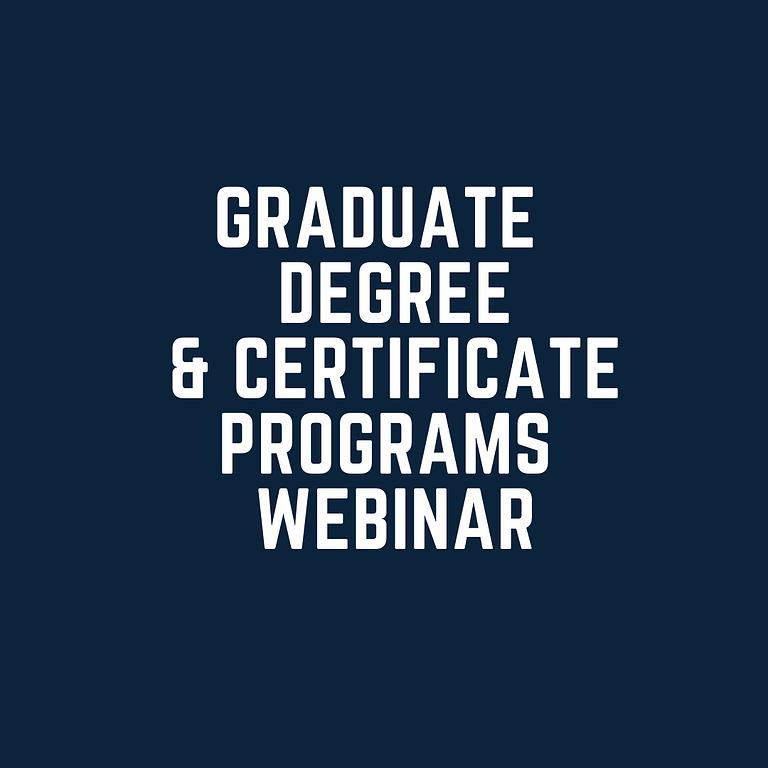 Graduate Webinar June 2nd Afternoon