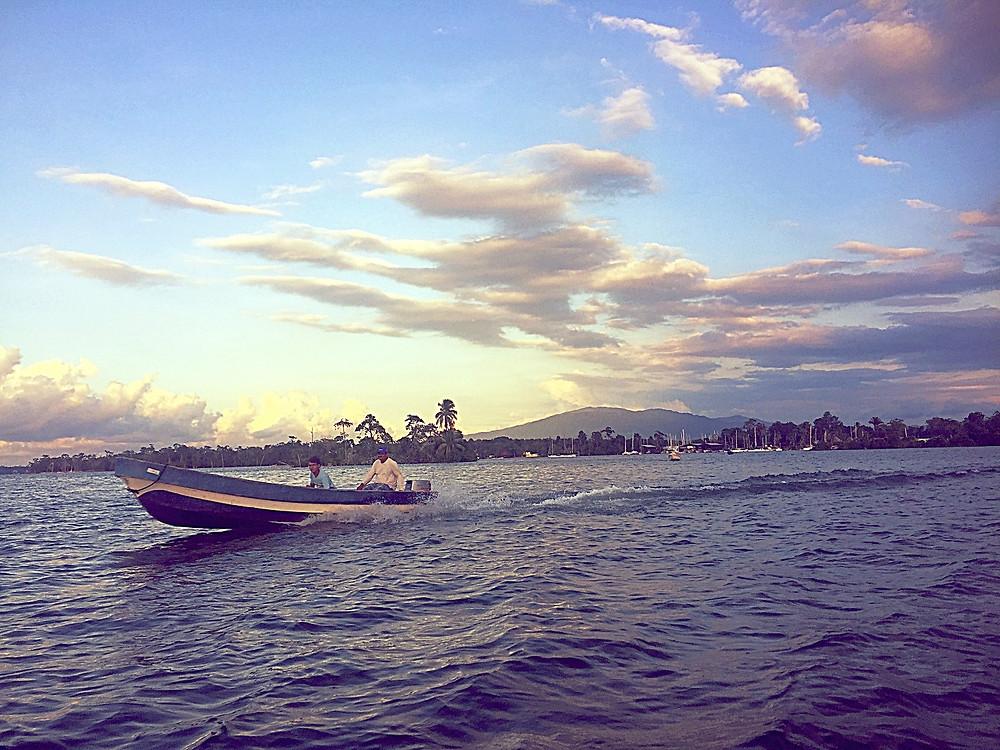 Rio Dulce, Guatemala, Lago Isabel