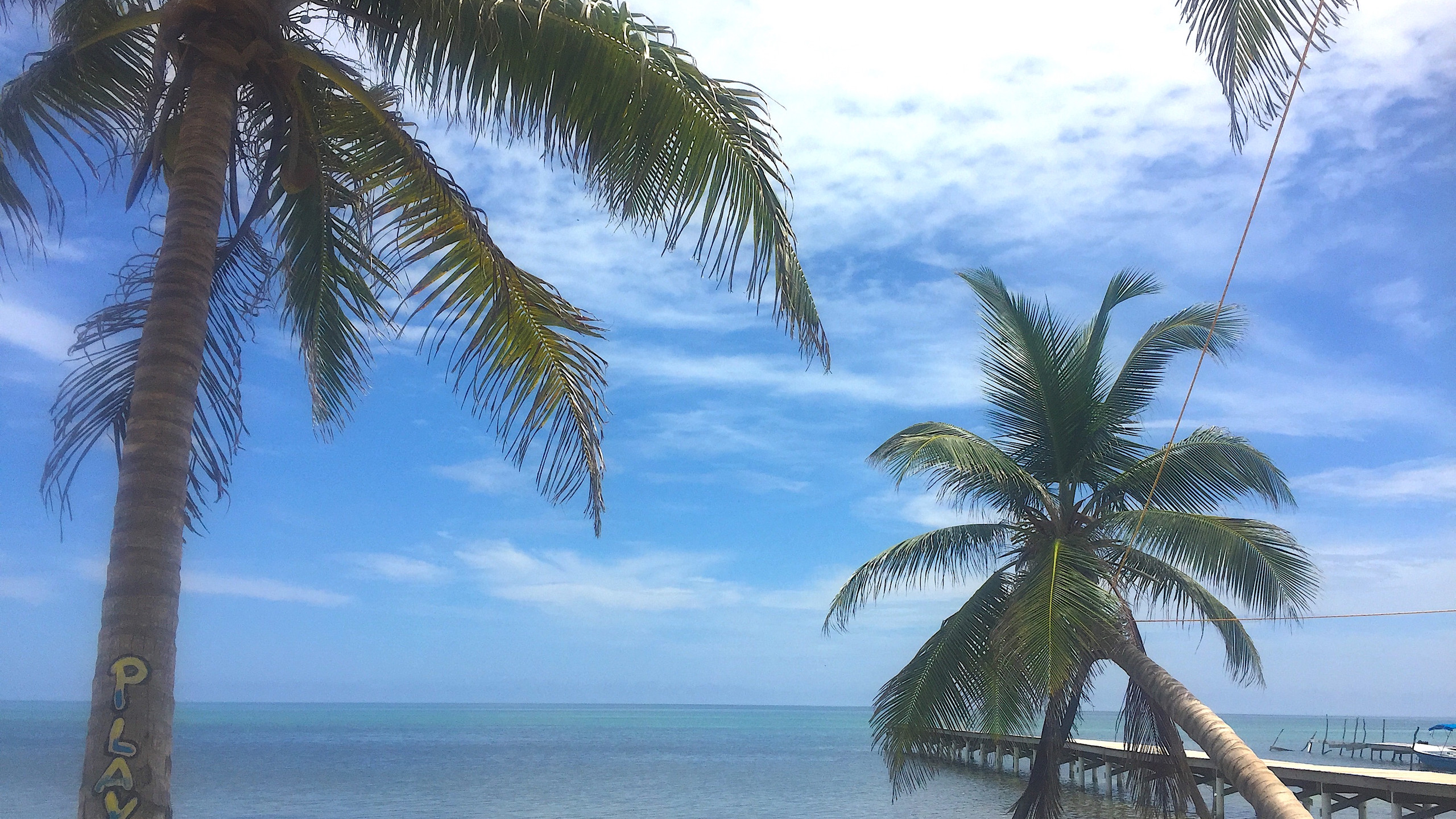 Ocean views Caye Caulker