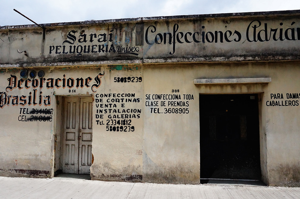 Old storefront, Guatemala City