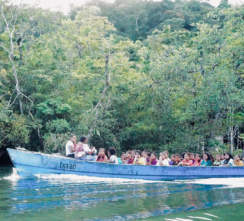 River life, Rio Dulce, Guatemala