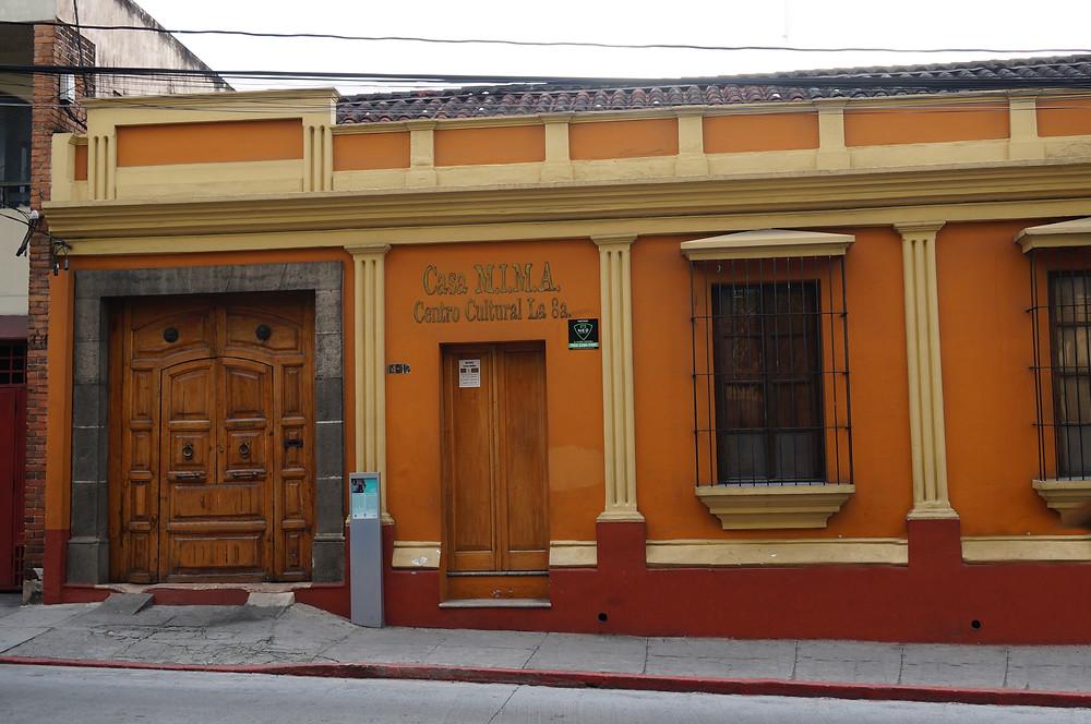 Guatemala City, architecture, zona 1, historic center