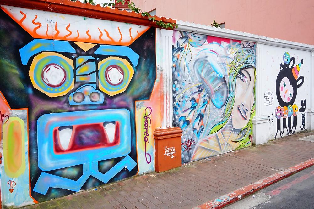 Street art, Guatemala City, Zone 4