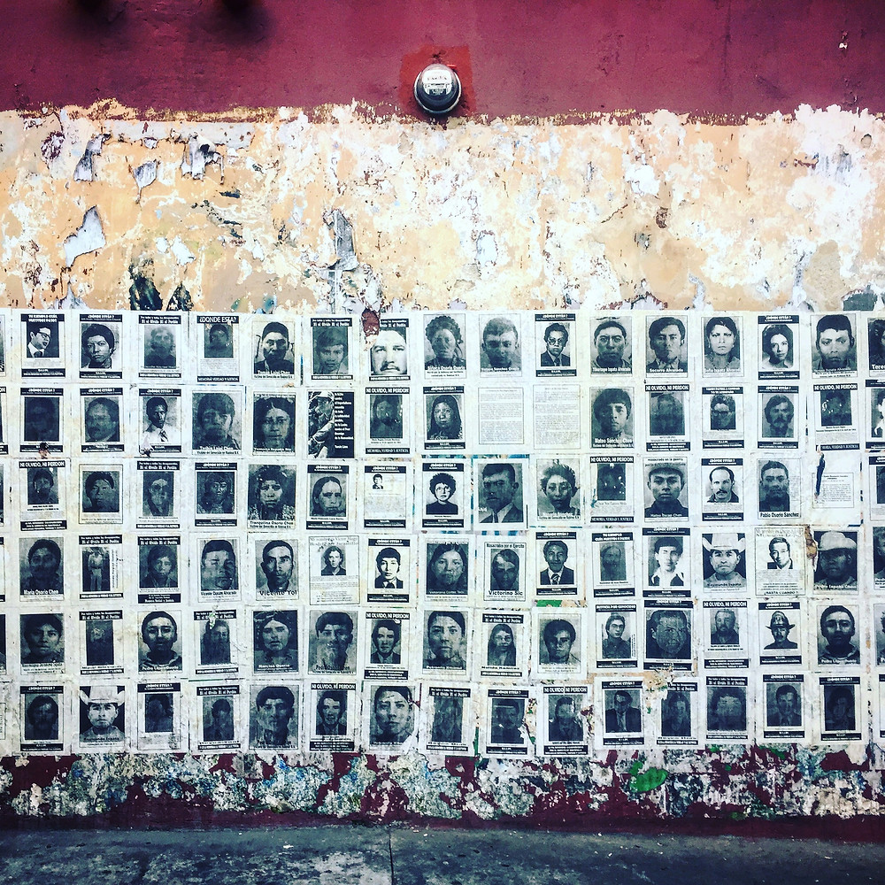 Los Desaparecidos, the missing from Guatemala's civil war