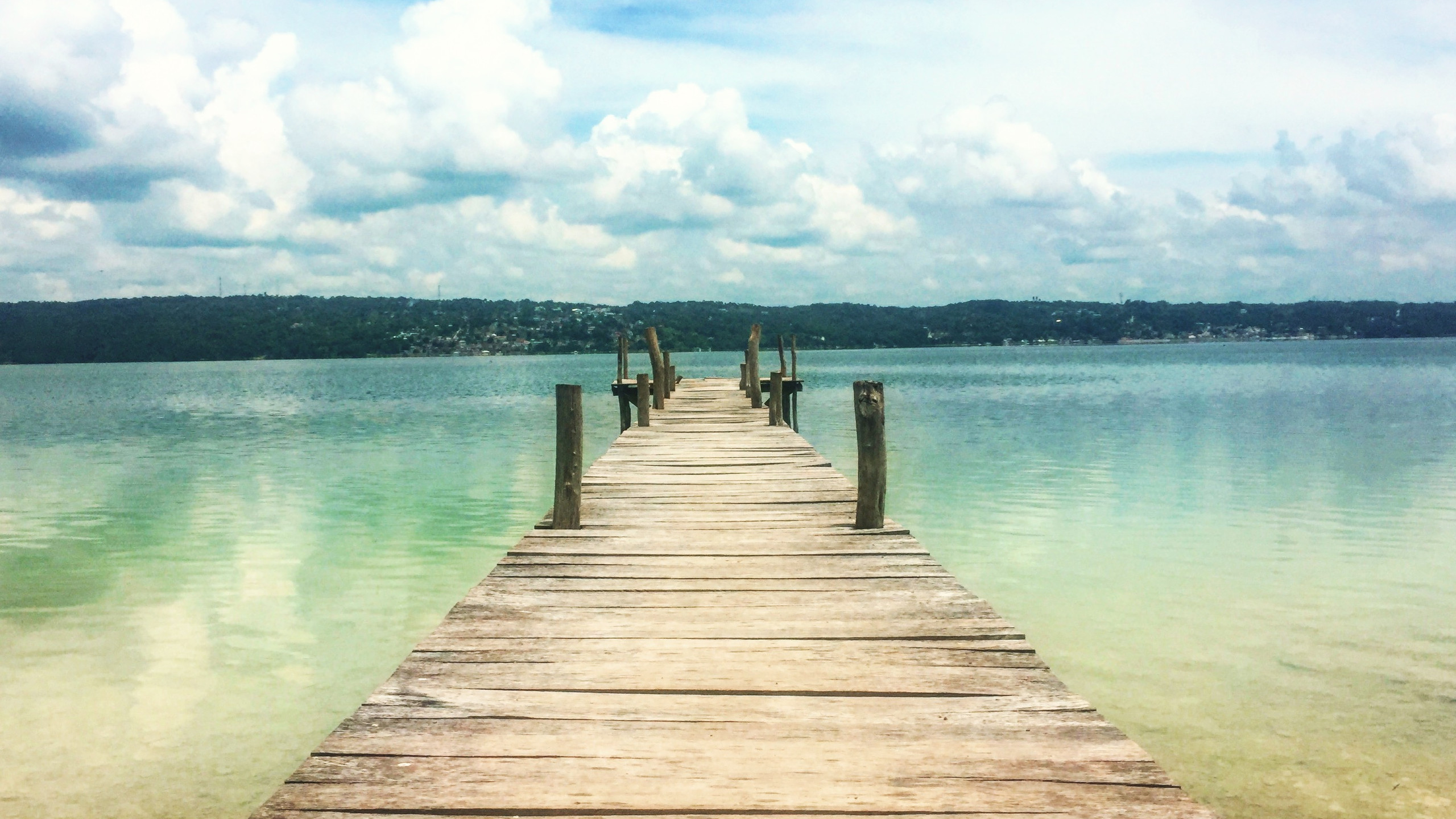 Dock at the beach