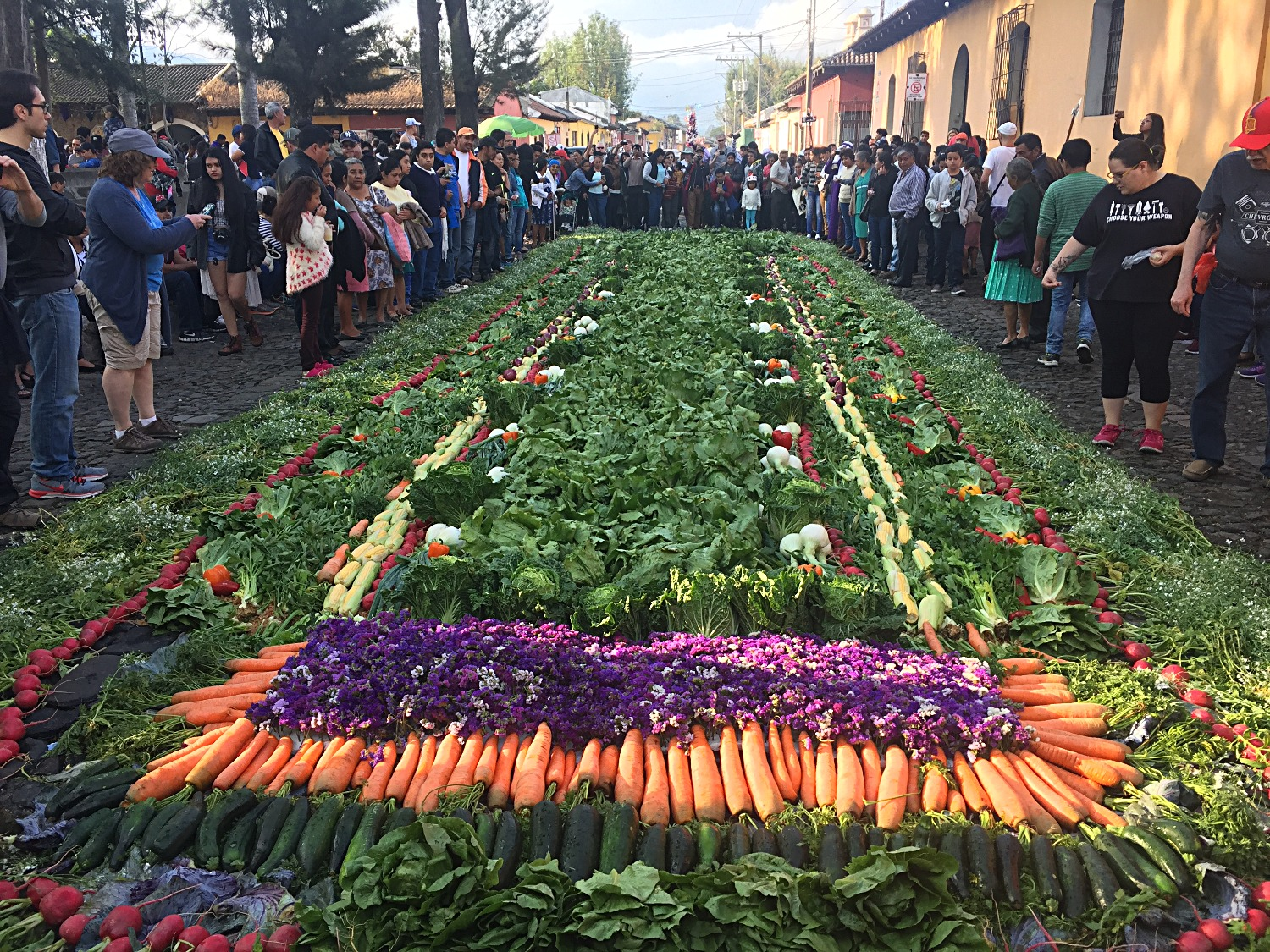 Vegetable alfombra