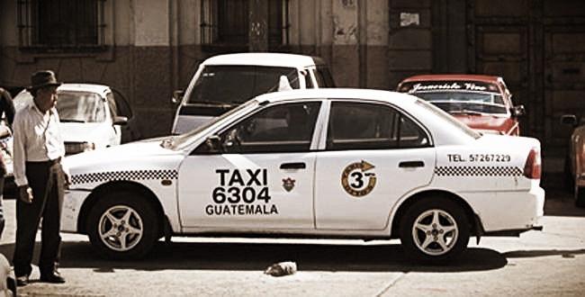 Taxi, Guatemala City